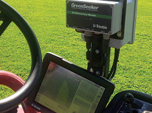 Contractor uses crop-sensing technology to improve athletic fields