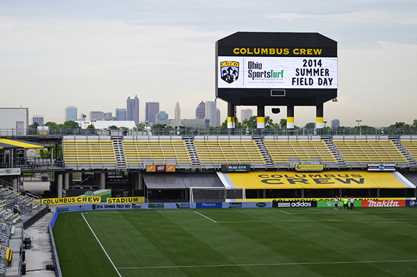 The Ohio Sports Turf Managers Association (OSTMA) held its annual Summer Field Day at Columbus Crew Stadium in Columbus, Ohio, on June 4.