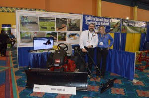 Rich and Paulette Behan, Nordic Plow, have come to five STMA Conferences, and say they love the amount of foot traffic they get at their booth each year.
