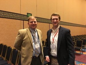 As far as they know, Travis Gannon, Ph.D., North Carolina State University, and AthleticTurf.net's Associate Editor Grant B. Gannon are not related, but they hope to see each other again at the 2018 STMA Conference/ Gannon family reunion.