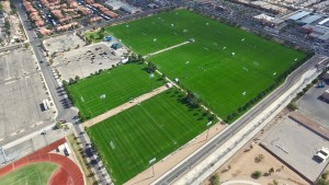Bettye Wilson Soccer Complex, host of the city's Mayor Cup.